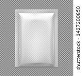 transparent sachet packaging...   Shutterstock .eps vector #1427200850
