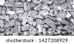 pattern of gravel  rock or...   Shutterstock . vector #1427208929