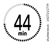 the 44 minutes countdown timer...