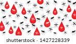 stop malaria no mosquito bite... | Shutterstock .eps vector #1427228339