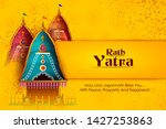 happy rath yatra holiday... | Shutterstock .eps vector #1427253863