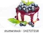 cheesecake.light dessert with... | Shutterstock . vector #142727218