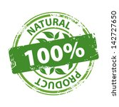 Green Rubber Stamp With Text...