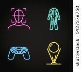 virtual reality concept icon...   Shutterstock .eps vector #1427276750