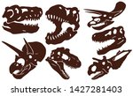 graphical vintage set of...   Shutterstock .eps vector #1427281403