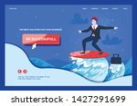 motivation landing page offers... | Shutterstock .eps vector #1427291699