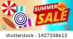 summer sale banner template...   Shutterstock .eps vector #1427338613