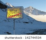 austrian alps  stubai mountains ... | Shutterstock . vector #142744534