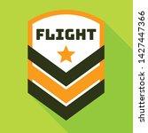star flight logo. flat... | Shutterstock .eps vector #1427447366