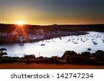 Salcombe Ria  Estuary  Sunset...