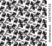 black and white grunge stripe... | Shutterstock .eps vector #1427474510