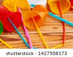 plastic objects   recycle...   Shutterstock . vector #1427508173