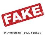 Fake Rubber Stamp. Fake Rubber...