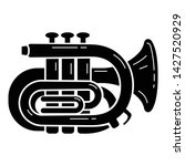 orchestra trumpet icon. simple... | Shutterstock .eps vector #1427520929