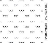 vintage eyeglasses pattern...   Shutterstock .eps vector #1427535503
