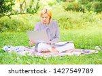 guide starting freelance career.... | Shutterstock . vector #1427549789