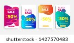 sale banner template with... | Shutterstock .eps vector #1427570483