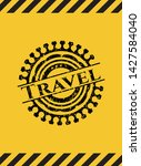 travel grunge black emblem with ...   Shutterstock .eps vector #1427584040