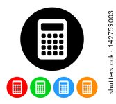 calculator icon | Shutterstock .eps vector #142759003