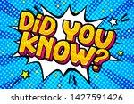 concept of interesting fact....   Shutterstock .eps vector #1427591426