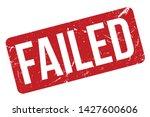 Failed Rubber Stamp. Failed...
