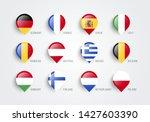 vector illustration map... | Shutterstock .eps vector #1427603390
