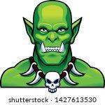 vector medieval fantasy orc ... | Shutterstock .eps vector #1427613530