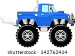 Monster Truck 4x4 Cartoon...
