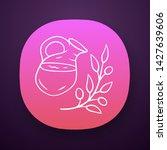 herbal ice tea jar app icon....