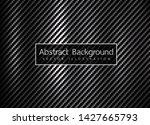 carbon kevlar fiber pattern... | Shutterstock .eps vector #1427665793