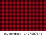 Red Black Lumberjack Plaid...
