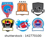 football patch | Shutterstock .eps vector #142770100