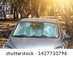 protective reflective surface... | Shutterstock . vector #1427710796