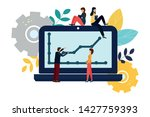 vector modern flat illustration ...   Shutterstock .eps vector #1427759393
