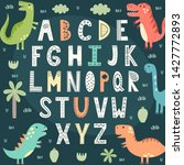 Funny Alphabet With Cute...