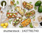 Assorted  Open Faced Sandwiches ...