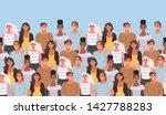 horizontal seamless pattern...   Shutterstock .eps vector #1427788283