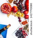 food rich with resveratrol ... | Shutterstock . vector #1427793080