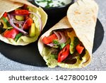 classic mexican cuisine. tacos... | Shutterstock . vector #1427800109