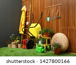 Gardening Tools With...