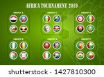 africa nations soccer cup... | Shutterstock .eps vector #1427810300