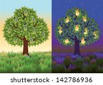 Fruit Tree With Light Bulbs...