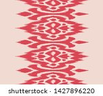 lace border. ikat seamless... | Shutterstock .eps vector #1427896220