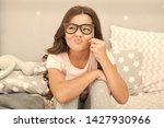 an intellectual look. happy... | Shutterstock . vector #1427930966