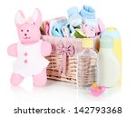 baby accessories isolated on... | Shutterstock . vector #142793368