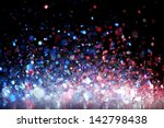 red  white and blue glitter   Shutterstock . vector #142798438