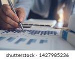 business analysis concept.... | Shutterstock . vector #1427985236