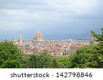 florence italy panorama  | Shutterstock . vector #142798846