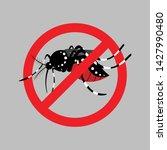 mosquito repellent illustration ... | Shutterstock .eps vector #1427990480