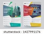 corporate business flyer poster ... | Shutterstock .eps vector #1427991176